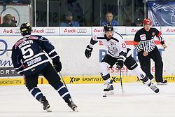 02.11.2014, Saturn Arena, Ingolstadt, GER, DEL, ERC Ingolstadt vs Thomas Sabo Ice Tigers, 16. Runde, im Bild Marco Nowak (Nr.8, Thomas Sabo Ice Tigers) // during Germans DEL Icehockey League 16th round match between ERC Ingolstadt and Thomas Sabo Ice Tigers at the Saturn Arena in Ingolstadt, Germany on 2014/11/02. EXPA Pictures © 2014, PhotoCredit: EXPA/ Eibner-Pressefoto/ Strisch<br /> <br /> *****ATTENTION - OUT of GER*****