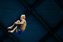 Jesper Tolvers (Guest) from Sweden competes in the Mens 10m Platform Preliminary - Mandatory byline: Rogan Thomson/JMP - 12/06/2016 - DIVING - Ponds Forge - Sheffield, England - British Diving Championships 2016 Day 3.