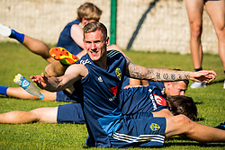 July 4, 2018 - Gelendzhik, Russia - 180704 Goalkeeper Robin Olsen of the Swedish national football team at a practice session during the FIFA World Cup on July 4, 2018 in Gelendzhik..Photo: Petter Arvidson / BILDBYRN / kod PA / 92081 (Credit Image: © Petter Arvidson/Bildbyran via ZUMA Press)
