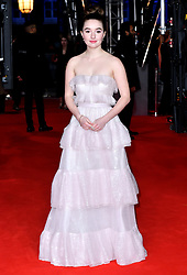 Kaitlyn Dever attending the 73rd British Academy Film Awards held at the Royal Albert Hall, London.