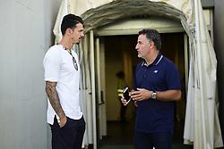 July 21, 2018 - Faro, Portugal, Portugal - arrivee de Jose Fonte (Losc) - nouvelle recrue du Losc et Christophe GALTIER - entraineur Lille (Credit Image: © Panoramic via ZUMA Press)