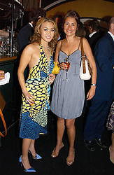 Left to right, YUKI OSHIMA-WILPON and  at the launch party for the fashion label Javovich-Hawk held at the Fifth Floor Cafe, Harvey Nichols, Knightsbridge, London on 27th April 2006.<br /><br />NON EXCLUSIVE - WORLD RIGHTS
