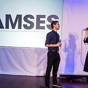 NLD/Amsterdam/20131216 - Persviewing Avro televisieserie Ramses, Maarten Heijmans en Noortje Herlaar
