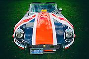 1973 Jaguar XKE at WAAAM Traffic Jam.