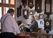 Park Etnograficzny w Sanoku - Galicyjski Rynek, pracownia zegarmistrza.