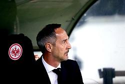 Eintracht Frankfurt's Manager Adi Hutter during the UEFA Europa League Semi final, first leg match at The Frankfurt Stadion, Frankfurt.
