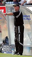 Photo: Alan Crowhurst.<br />Wycombe Wanderers v Wrexham. Coca Cola League 2.<br />05/08/2006. Wrexham coach Denis Smith.