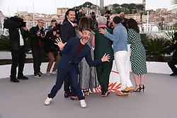 May 18, 2019 - Cannes, Provence-Alpes-Cote d'Azu, France - 72eme Festival International du Film de Cannes. Photocall du film ''Douleur et Gloire''. 72th International Cannes Film Festival. Photocall of ''Dolor y gloria'' movie....239401 2019-05-18 Provence-Alpes-Cote d'Azur Cannes France.. Banderas, Antonio; Almodovar, Pedro; Sbaraglia, Leonardo (Credit Image: © Philippe Farjon/Starface via ZUMA Press)