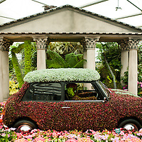 LONDON, UK - 21 May 2012: the Birmingham city Council garden at the RHS Chelsea Flower Show 2012.