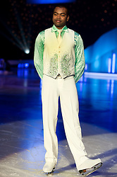 Dancing on Ice Photocall Sheffield Motorpoint Arena .Johnson Beharry VC..7 April 2011.Images © Paul David Drabble