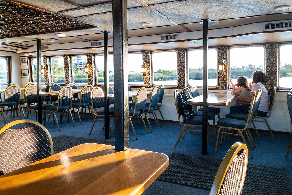 Evening cruise aboard the Henrietta with Cape Fear Riverboats in Wilmington, North Carolina on Wednesday, August 11, 2021. Copyright 2021 Jason Barnette