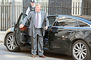 © Licensed to London News Pictures. 08/07/2014. Westminster, UK Kenneth Clarke QC, Conservative MP,  arriving on Downing Street today 8th July 2014 for the weekly cabinet meeting. Photo credit : Stephen Simpson/LNP