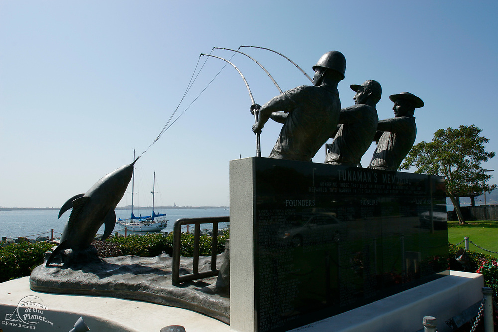 Tunaman's Memorial, Shelter Island, San Diego, California (SD)