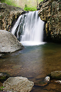This is a photo of Kilgore Falls at Rocks State Park in Maryland.