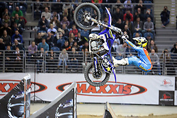 20.03.2015, Tauron Arena, Krakau, POL, Diverse night of the Jumps, FMX Weltmeisterschaft 2015, im Bild LIBOR PODMOL – CZECHY // during the diverse night of the jumps FMX world championchip 2015 at the Tauron Arena in Krakau, Poland on 2015/03/20. EXPA Pictures © 2015, PhotoCredit: EXPA/ Newspix/ MAREK KLIMEK/NEWSPIX.PL<br /> <br /> *****ATTENTION - for AUT, SLO, CRO, SRB, BIH, MAZ, TUR, SUI, SWE only*****