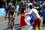 Tom Dumoulin (NED - Team Sunweb) Fans, during the 105th Tour de France 2018, Stage 11, Alberville - La Rosiere Espace Bernardo (108,5 km) on July 18th, 2018 - Photo Luca Bettini / BettiniPhoto / ProSportsImages / DPPI