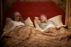 RELEASE DATE: September 29, 2017 TITLE: Back To Burgundy STUDIO: Netflix DIRECTOR: Ritesh Batra PLOT: Fonda and Redford will star as Addie Moore and Louis Waters, a widow and widower who've lived next to each other for years. The pair have almost no relationship, but that all changes when Addie tries to make a connection with her neighbor. STARRING: JANE FONDA as Addie Moore, ROBERT REDFORD as Louis Waters. (Credit Image: © Netflix/Entertainment Pictures/ZUMAPRESS.com)