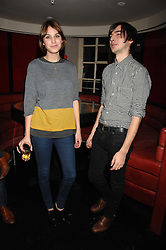 ALEXA CHUNG and    at a party to celebrate the launch of the Kova & T fashion label and to re-launch the Harvey Nichols Fifth Floor Bar, held at harvey Nichols, Knightsbridge, London on 22nd November 2007.<br /><br />NON EXCLUSIVE - WORLD RIGHTS