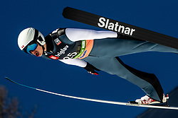 Matthew Soukup (CAN) during the Trial Round of the Ski Flying Hill Individual Competition at Day 1 of FIS Ski Jumping World Cup Final 2019, on March 21, 2019 in Planica, Slovenia. Photo by Matic Ritonja / Sportida
