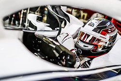 April 7, 2018 - Sakhir, Bahrain - LECLERC Charles (mco), Alfa Romeo Sauber F1 Team C37, portrait during 2018 Formula 1 FIA world championship, Bahrain Grand Prix, at Sakhir from April 5 to 8  I  Motorsports: FIA Formula One World Championship 2018, Grand Prix of Bahrain,, #16 Charles Leclerc (MON Alfa Romeo Sauber F1 Team) (Credit Image: © Hoch Zwei via ZUMA Wire)