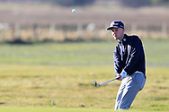 Alexander Jamieson (Portstewart) on the 1st during Round 2 of the Ulster Boys Championship at Donegal Golf Club, Murvagh, Donegal, Co Donegal on Thursday 25th April 2019.<br /> Picture:  Thos Caffrey / www.golffile.ie