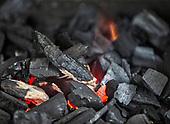 Bieszczady - wypalanie węgla drzewnego