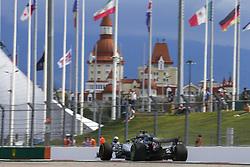 September 28, 2018 - Sochi, Russia - Motorsports: FIA Formula One World Championship 2018, Grand Prix of Russia, .#44 Lewis Hamilton (GBR, Mercedes AMG Petronas Motorsport) (Credit Image: © Hoch Zwei via ZUMA Wire)