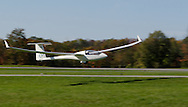 Middletown, N.Y. - A glider comes in for a landing  at Randall Airport on Oct. 8, 2006. ©Tom Bushey