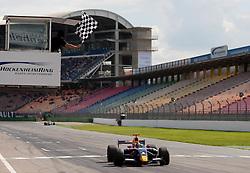 0.09.2010, Hockenheimring, Hockenheim, GER, World Series by Renault, im Bild Daniel Ricciardo gewinnt auf dem Hockenheimring, EXPA Pictures © 2010, PhotoCredit: EXPA/ MN