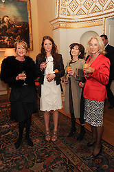 A party to promote the exclusive Puntacana Resort & Club - the Caribbean's Premier Golf & Beach Resort Destination, was held at Spencer House, London on 13th May 2010.<br /> <br /> Picture shows:-Left to right,  JAN SCOTT, JENNA SCOTT, MARTINE BELL and VIRGINIA MEJIA