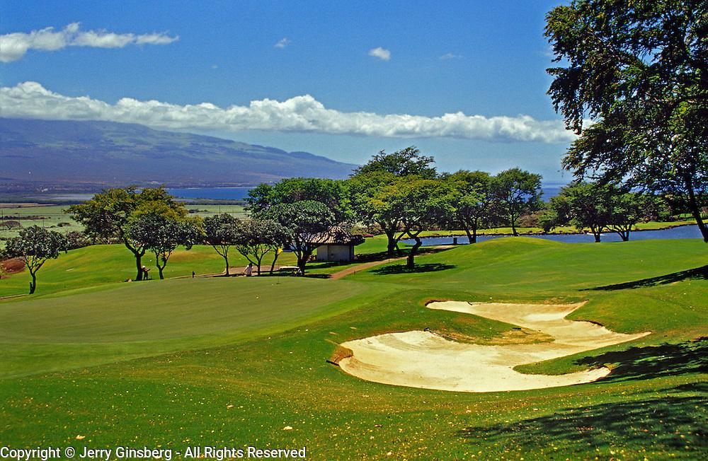 Golfing in the tropics.