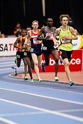 New Balance Indoor Grand Prix track meet: Men's 3000 meter, pacesetters lead Rupp,