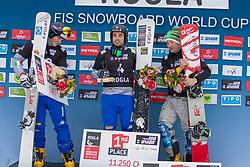 during Final Run at Parallel Giant Slalom at FIS Snowboard World Cup Rogla 2019, on January 19, 2019 at Course Jasa, Rogla, Slovenia. Photo byJurij Vodusek / Sportida