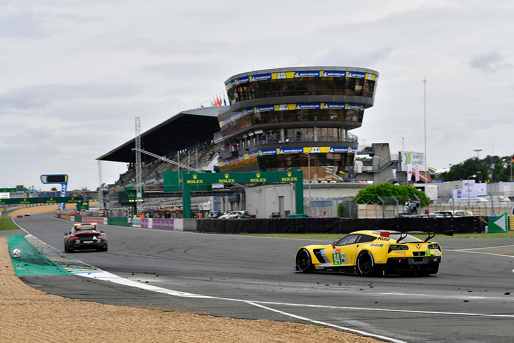 #84 JMW Motorsport Ferrari 488 GTE: Liam Griffin, Cooper MacNeil, Jeff Segal<br /> Sunday 17 June 2018<br /> 24 Hours of Le Mans<br /> 2018 24 Hours of Le Mans<br /> Circuit de la Sarthe  FR<br /> World Copyright: Scott R LePage