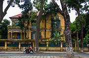 Hanoi's French Colonial District of mansions
