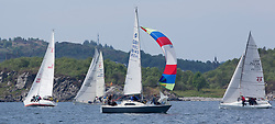 Sailing - SCOTLAND  - 26th May 2018<br /> <br /> DAY 2 Racing the Scottish Series 2018, organised by the  Clyde Cruising Club, with racing on Loch Fyne from 25th-28th May 2018<br /> <br /> GBR8145N, Scruples , Chris Tait, Helensburgh SC<br /> <br /> Credit : Marc Turner<br /> <br /> Event is supported by Helly Hansen, Luddon, Silvers Marine, Tunnocks, Hempel and Argyll & Bute Council along with Bowmore, The Botanist and The Botanist