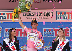 Mark Cavendish (GBR) of Team Columbia won the Rose jersey for best overall rider at 2nd stage of 92nd Giro d'Italia in Trieste, on May 10, 2009, in Trieste, Italia.  (Photo by Vid Ponikvar / Sportida)