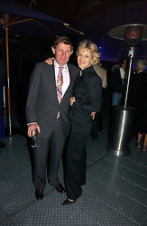 Lawyer FIONA SHACKLETON and her husband IAN SHACKLETON at a party to celebrate the 25th anniversary of leading restaurant Le Caprice held at The Serpentine Gallery, London on 3rd October 2006.<br />