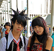 Punk Rock Couple in Bangkok, Thailand