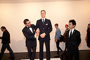 PETER ELLIOT; PRINCE WILLIAM WAXWORK, 'Engagement' exhibition of work by Jennifer Rubell. Stephen Friedman Gallery. London. 7 February 2011. -DO NOT ARCHIVE-© Copyright Photograph by Dafydd Jones. 248 Clapham Rd. London SW9 0PZ. Tel 0207 820 0771. www.dafjones.com.