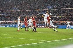 October 31, 2017 - Rome, Italy - David Luiz during the Champions League football match A.S. Roma vs Chelsea Football Club at the Olympic Stadium in Rome, on october 31, 2017. (Credit Image: © Silvia Lore/NurPhoto via ZUMA Press)