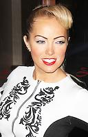 Aisleyne Horgan-Wallace, Aspire Drinks - Press Launch, Sanctum Soho Hotel - Roof Garden, London UK, 12 December 2013, Photo by Brett D. Cove