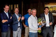 08-10-2017 - Foto van de finaledag van de Dutch Masters 2017, een European Senior Tour Event. Gespeeld op The Dutch in Spijk van 6 t/m 8 oktober.  Prijsuitreiking, Paul Eales