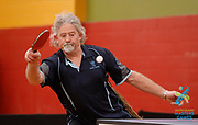 2020 South Island Masters Games<br /> TABLE TENNIS<br /> Timaru<br /> Photo KEVIN CLARKE ANZIPP CMG SPORT ACTION IMAGES<br /> 10/10/2020<br /> ©cmgsport2020