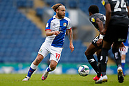 Harry Chapman of Blackburn Rovers   during the EFL Cup match between Blackburn Rovers and Doncaster Rovers at Ewood Park, Blackburn, England on 29 August 2020.