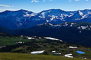 USA, Colorado, Rocky Mountain National Park, Never Summer Mountains