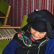 This old lady that did not want to be photographed, was the mother of our tour guide Saleh in the desert of Wadi Rum Jordan.