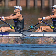 Ollie Maclean & Jack Lopas - NZ U23 Mens Double sculls<br /> <br /> Compete at the FISA U23 Worlds on Sunday 28 July 2019 at Nathan Benderson Park, Sarasota, Florida, USA © Copyright photo Steve McArthur / www.photosport.nz