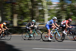 Lucy Shaw rehydrates at Madrid Challenge by la Vuelta 2017 - a 87 km road race on September 10, 2017, in Madrid, Spain. (Photo by Sean Robinson/Velofocus.com)