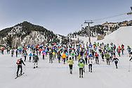 America's Uphill race on Aspen Mountain.